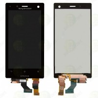 LCD + Touch Sony Xperia Acro S/LT26w - черен