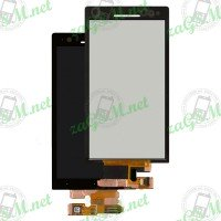 LCD + Touch Sony Xperia S/LT26i - черен