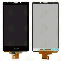 LCD + Touch Sony Xperia T/LT30i - черен