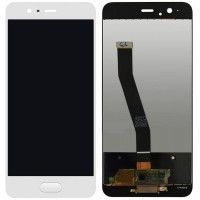 LCD + Touch Huawei P10 Бял