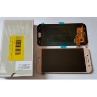 LCD + Touch ORIGINAL Samsung A5 2017 - pink
