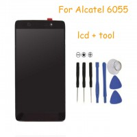 LCD + Touch Alcatel 6055 6055B black