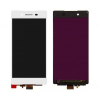 LCD + Touch Sony Xperia Z5/E6653 - черен, бял